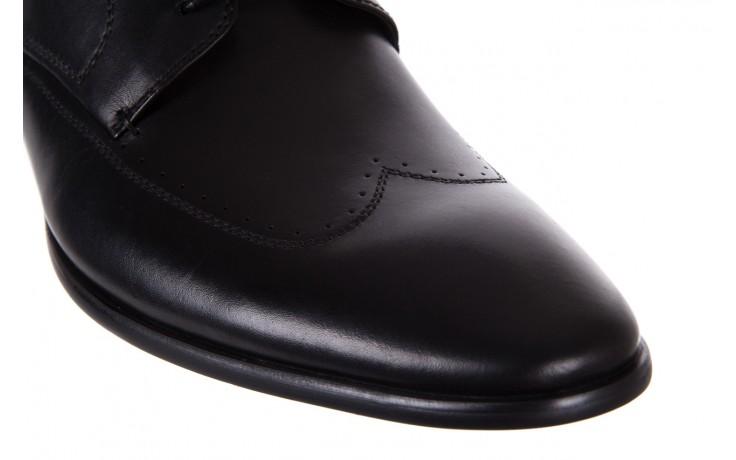 Półbuty bayla-122 at1350-1 black, czarny, skóra naturalna  - trendy - mężczyzna 6