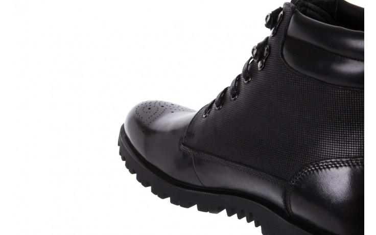 Trzewiki bayla-122 at1432-1 black, czarny, skóra naturalna - trzewiki - buty męskie - mężczyzna 5