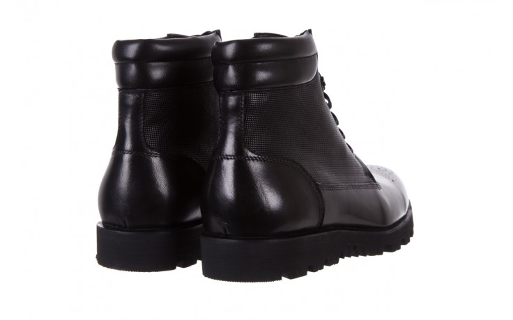 Trzewiki bayla-122 at1432-1 black, czarny, skóra naturalna - trzewiki - buty męskie - mężczyzna 3