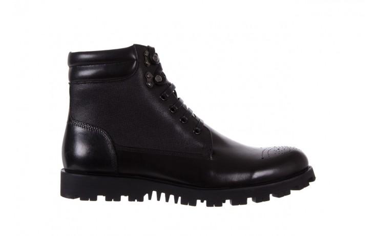 Trzewiki bayla-122 at1432-1 black, czarny, skóra naturalna - trzewiki - buty męskie - mężczyzna