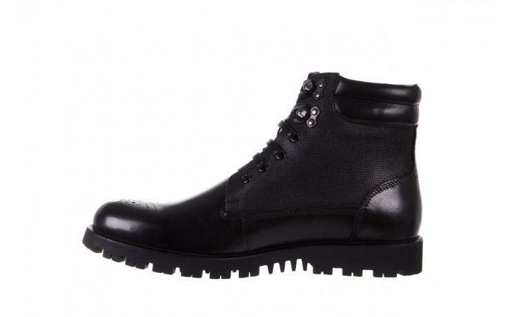 Trzewiki bayla-122 at1432-1 black, czarny, skóra naturalna - trzewiki - buty męskie - mężczyzna 2