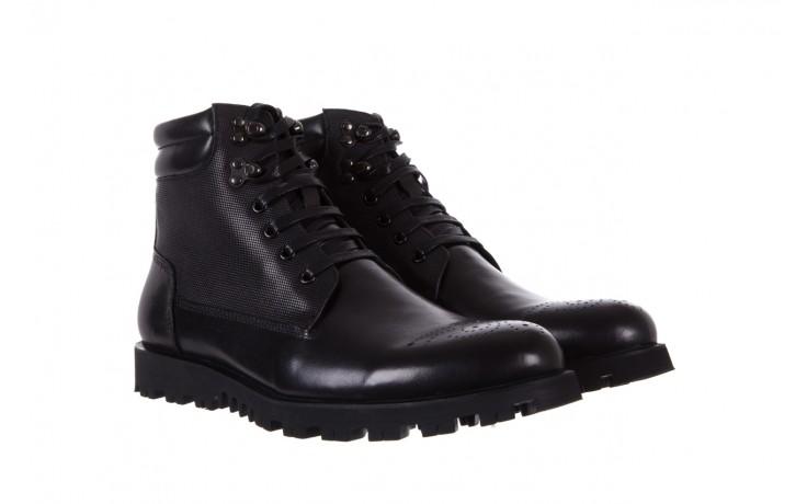Trzewiki bayla-122 at1432-1 black, czarny, skóra naturalna - trzewiki - buty męskie - mężczyzna 1