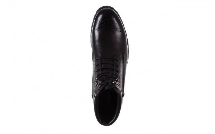 Trzewiki bayla-122 at1432-1 black, czarny, skóra naturalna - trzewiki - buty męskie - mężczyzna 4
