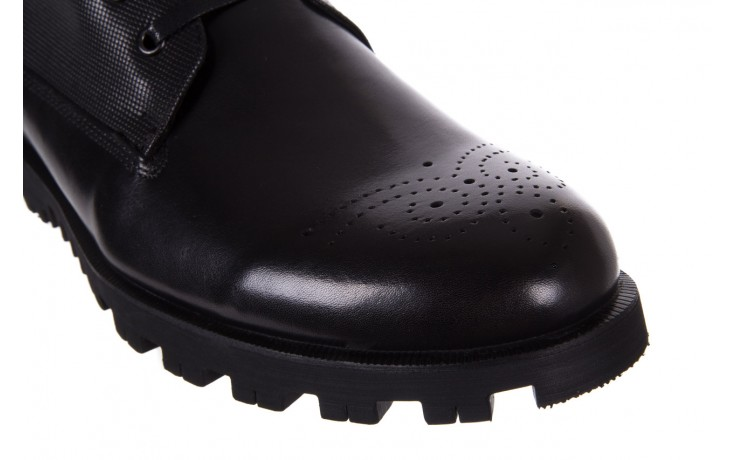 Trzewiki bayla-122 at1432-1 black, czarny, skóra naturalna - trzewiki - buty męskie - mężczyzna 6