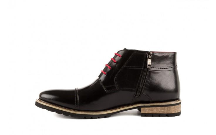 Trzewiki bayla-122 at229-1 black, czarny, skóra naturalna - obuwie wizytowe - dla niego - sale 2