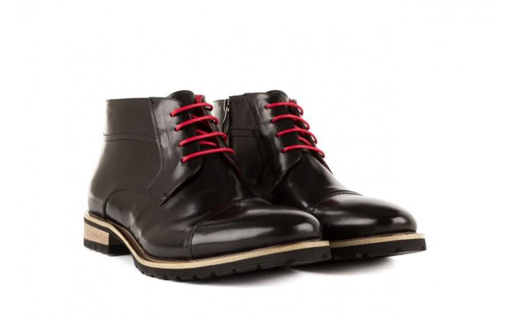 Trzewiki bayla-122 at229-1 black, czarny, skóra naturalna - obuwie wizytowe - dla niego - sale 1