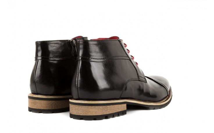 Trzewiki bayla-122 at229-1 black, czarny, skóra naturalna - obuwie wizytowe - dla niego - sale 3