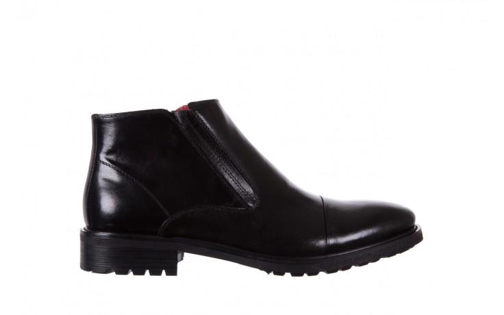 Trzewiki bayla-122 at229-6 black, czarny, skóra naturalna  - wizytowe - trzewiki - buty męskie - mężczyzna