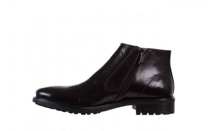 Trzewiki bayla-122 at229-6 black, czarny, skóra naturalna  - wizytowe - trzewiki - buty męskie - mężczyzna 2