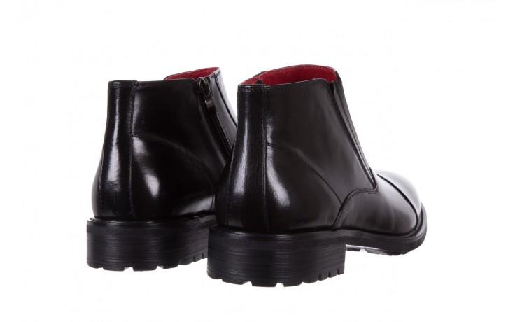 Trzewiki bayla-122 at229-6 black, czarny, skóra naturalna  - trzewiki - buty męskie - mężczyzna 3