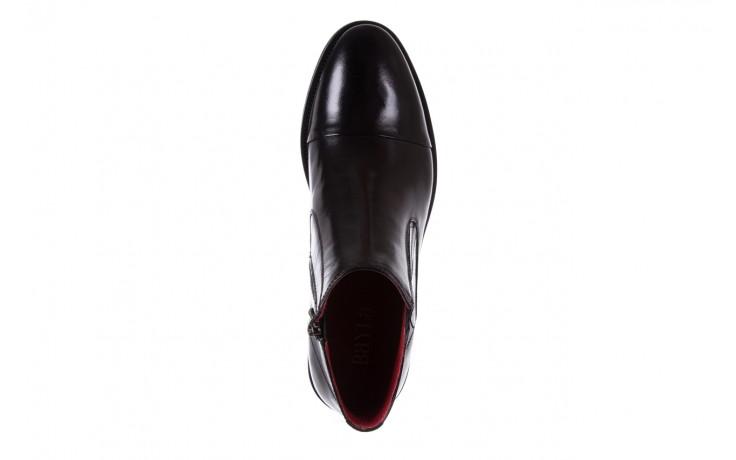 Trzewiki bayla-122 at229-6 black, czarny, skóra naturalna  - wizytowe - trzewiki - buty męskie - mężczyzna 4