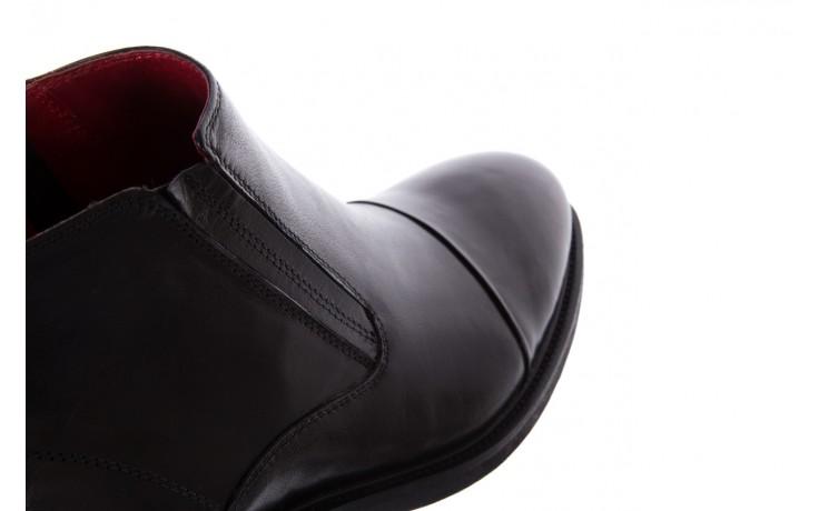 Trzewiki bayla-122 at229-6 black, czarny, skóra naturalna  - trzewiki - buty męskie - mężczyzna 6