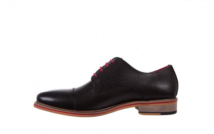 Półbuty bayla-122 at365-2 black, czarny, skóra naturalna  - obuwie wizytowe - buty męskie - mężczyzna 2
