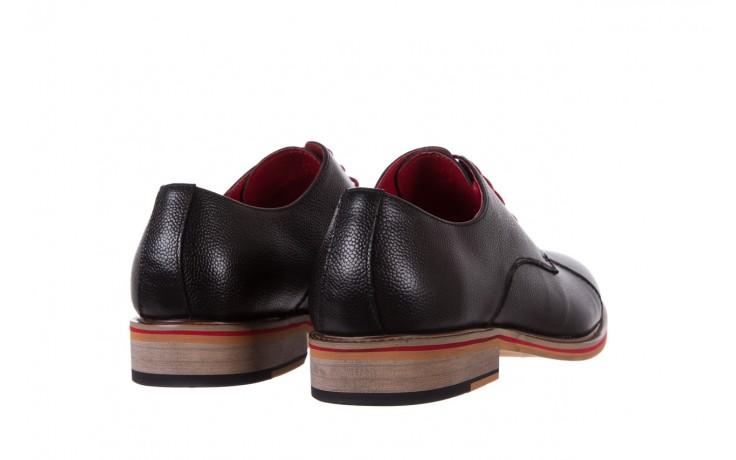 Półbuty bayla-122 at365-2 black, czarny, skóra naturalna  - obuwie wizytowe - buty męskie - mężczyzna 3