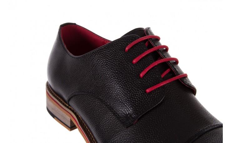 Półbuty bayla-122 at365-2 black, czarny, skóra naturalna  - obuwie wizytowe - buty męskie - mężczyzna 5