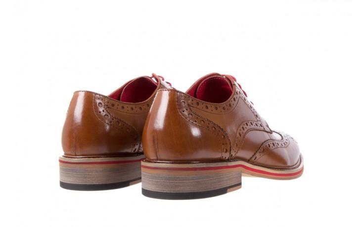 Półbuty bayla-122 at365-3 lt brown, brąz, skóra naturalna - bayla - nasze marki 3