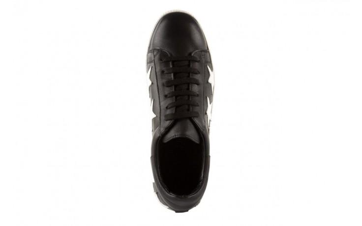Trampki bayla-123 5502102 black, czarny, skóra naturalna - bayla - nasze marki 4
