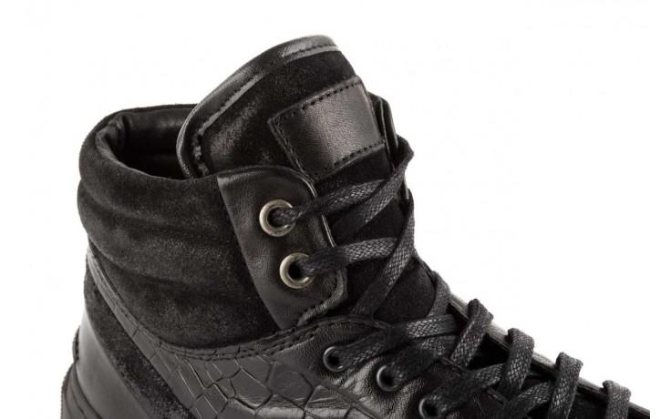 Trampki bayla-124 395 black, czarny, skóra naturalna - bayla - nasze marki 5