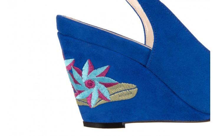 Sandały bayla-128 1995 956 niebieski, skóra naturalna  - bayla - nasze marki 5