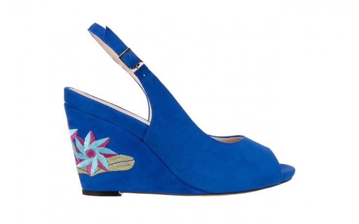 Sandały bayla-128 1995 956 niebieski, skóra naturalna  - bayla - nasze marki