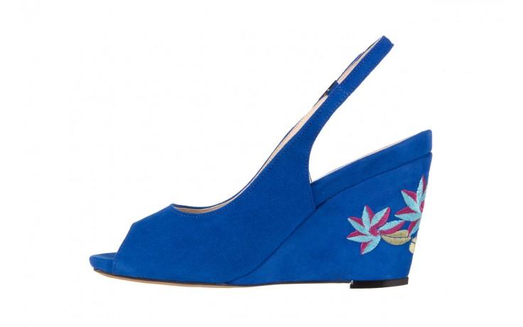 Sandały bayla-128 1995 956 niebieski, skóra naturalna  - bayla - nasze marki 2