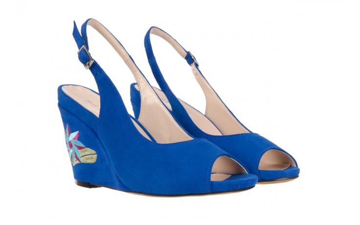 Sandały bayla-128 1995 956 niebieski, skóra naturalna  - bayla - nasze marki 1