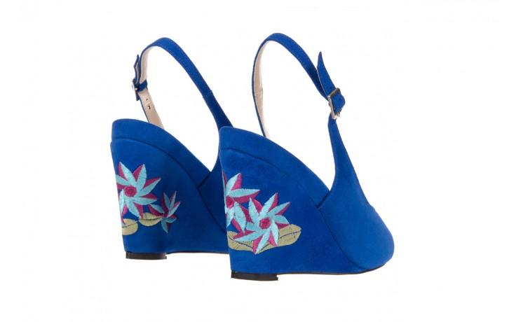 Sandały bayla-128 1995 956 niebieski, skóra naturalna  - bayla - nasze marki 3