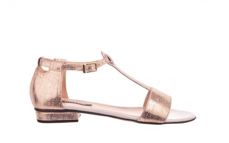 Sandały bayla-130 03876 0106-13 róż złocony 130023, skóra naturalna  - sandały - dla niej - dodatkowe -10%