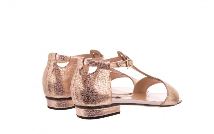 Sandały bayla-130 03876 0106-13 róż złocony 130023, skóra naturalna  - sandały - dla niej - dodatkowe -10% 2