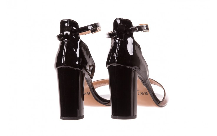 Sandały bayla-130 04322-0124-06 czarny l, skóra naturalna lakierowana  - bayla - nasze marki 3