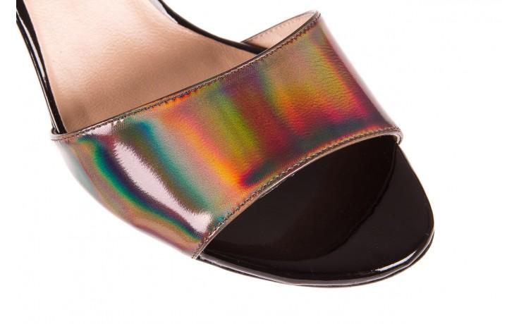 Sandały bayla-130 04322-0124-06 czarny l, skóra naturalna lakierowana  - bayla - nasze marki 4