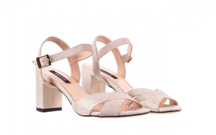 Sandały bayla-130 04347-0125-04 beż z, skóra naturalna  - sandały - dla niej - dodatkowe -10% 1