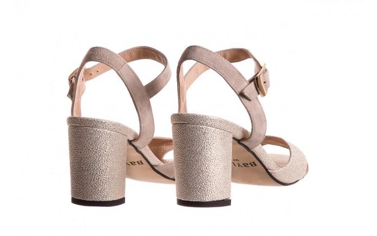 Sandały bayla-130 04347-0125-04 beż z, skóra naturalna  - sandały - dla niej - dodatkowe -10% 3