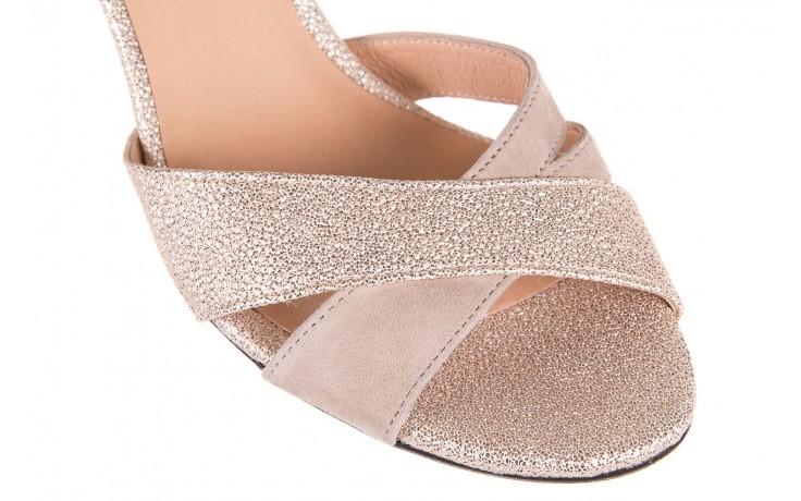 Sandały bayla-130 04347-0125-04 beż z, skóra naturalna  - sandały - dla niej - dodatkowe -10% 5