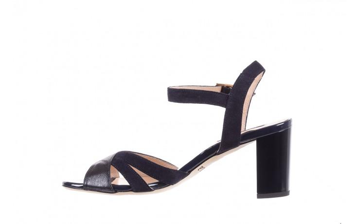 Sandały bayla-130 04347-0125-05 granat z, skóra naturalna  - sandały - dla niej - dodatkowe -10% 2