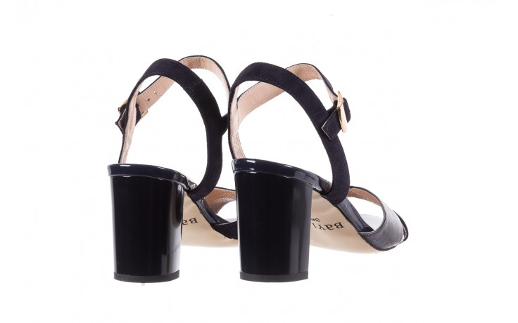 Sandały bayla-130 04347-0125-05 granat z, skóra naturalna  - sandały - dla niej - dodatkowe -10% 3