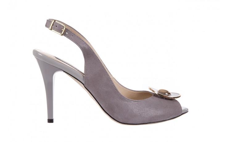 Sandały bayla-130 3899-092-910 popiel, skóra naturalna  - bayla - nasze marki