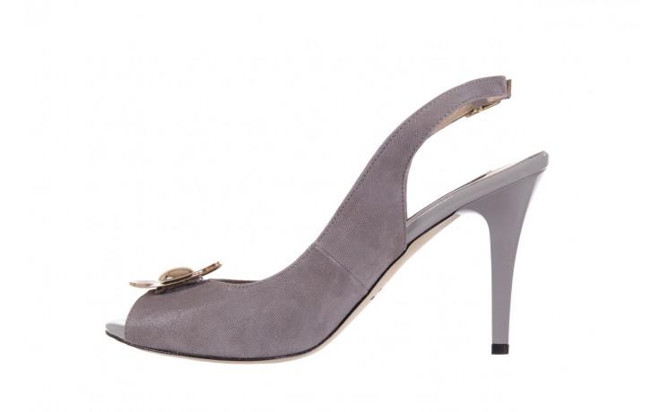 Sandały bayla-130 3899-092-910 popiel, skóra naturalna  - bayla - nasze marki 2