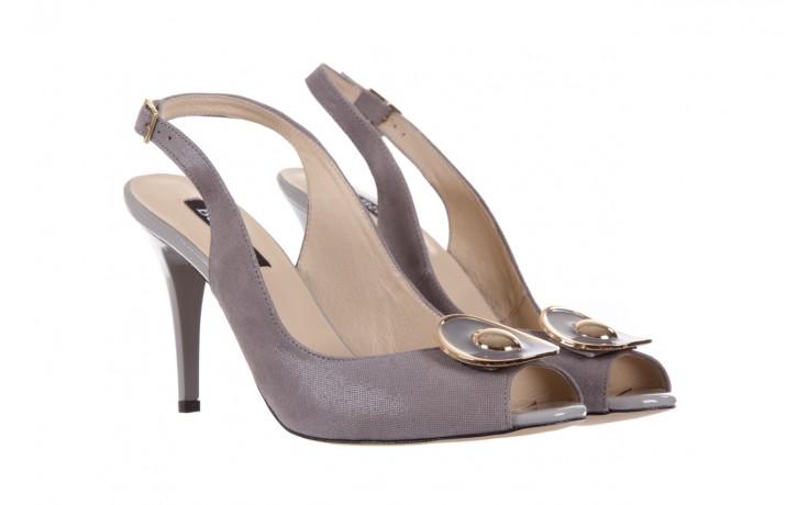 Sandały bayla-130 3899-092-910 popiel, skóra naturalna  - bayla - nasze marki 1