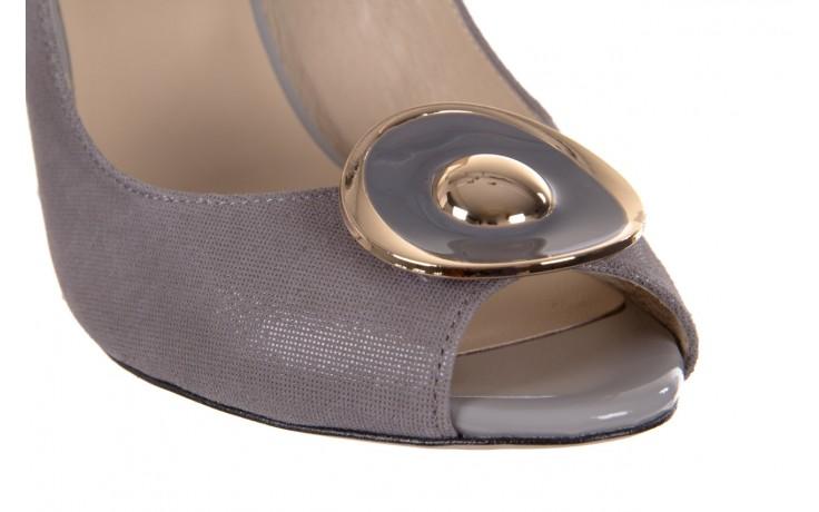 Sandały bayla-130 3899-092-910 popiel, skóra naturalna  - bayla - nasze marki 5