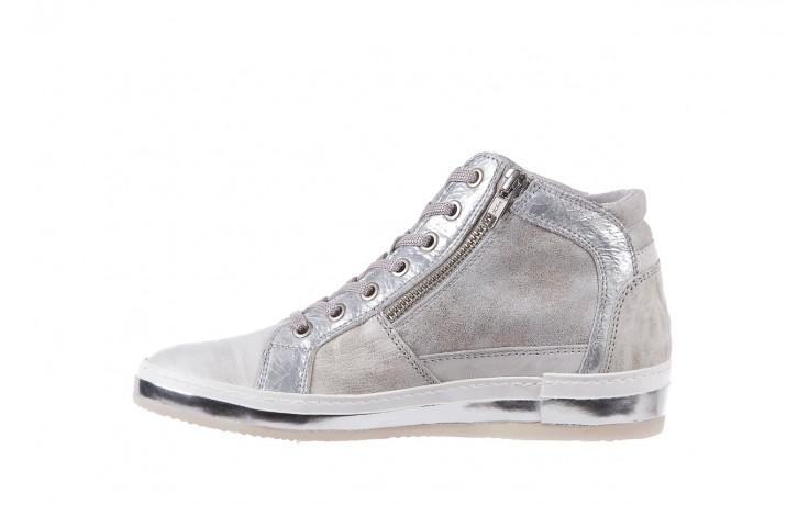 Sneakersy bayla-131 1219 zinco, szary, skóra naturalna  - obuwie sportowe - dla niej - dodatkowe -10% 2