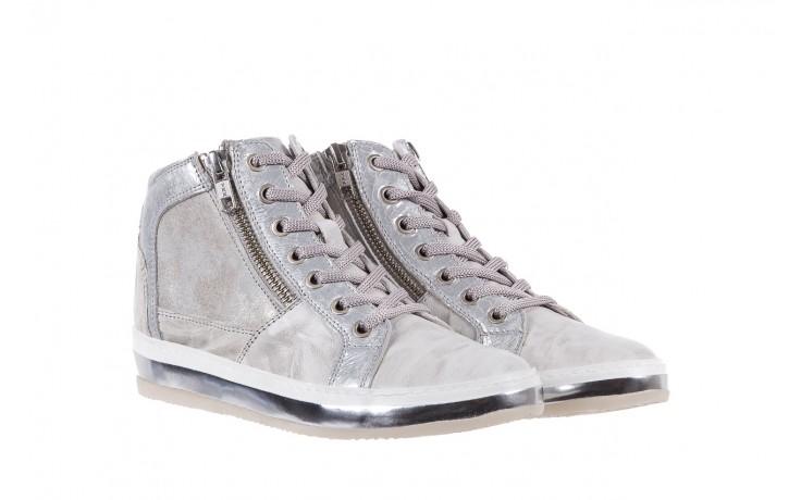Sneakersy bayla-131 1219 zinco, szary, skóra naturalna  - obuwie sportowe - dla niej - dodatkowe -10% 1