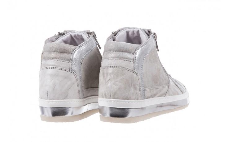 Sneakersy bayla-131 1219 zinco, szary, skóra naturalna  - obuwie sportowe - dla niej - dodatkowe -10% 3