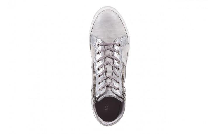 Sneakersy bayla-131 1219 zinco, szary, skóra naturalna  - obuwie sportowe - dla niej - dodatkowe -10% 4