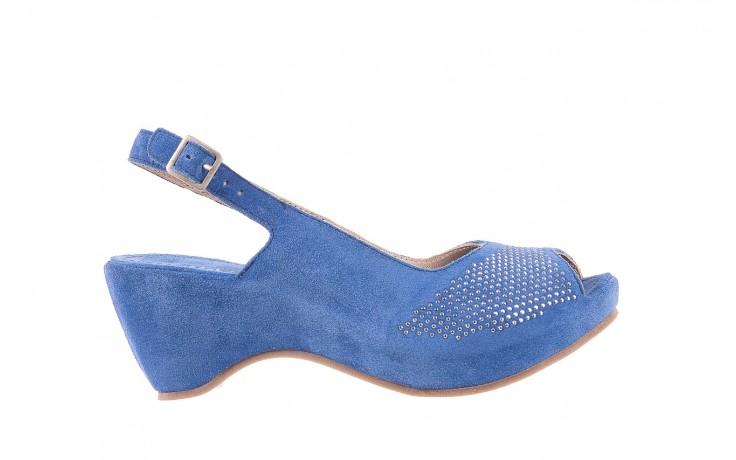 Sandały bayla-131 2507 cobalto, niebieski, skóra naturalna  - bayla - nasze marki