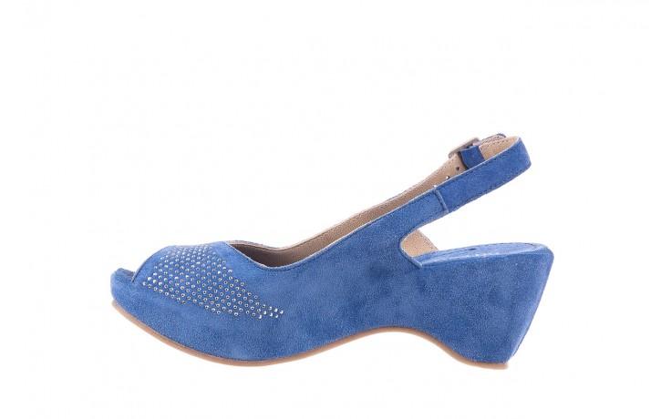 Sandały bayla-131 2507 cobalto, niebieski, skóra naturalna  - bayla - nasze marki 2