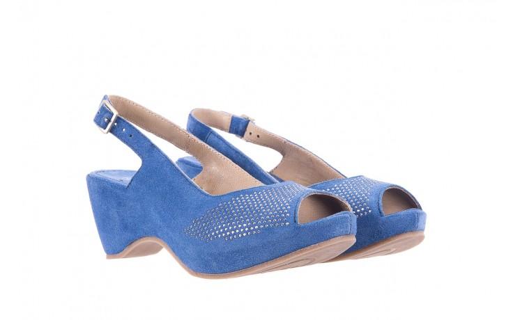 Sandały bayla-131 2507 cobalto, niebieski, skóra naturalna  - bayla - nasze marki 1