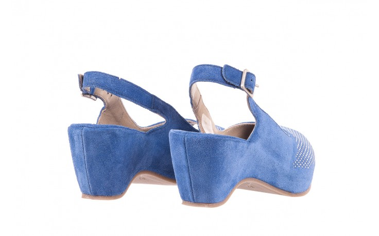 Sandały bayla-131 2507 cobalto, niebieski, skóra naturalna  - bayla - nasze marki 3