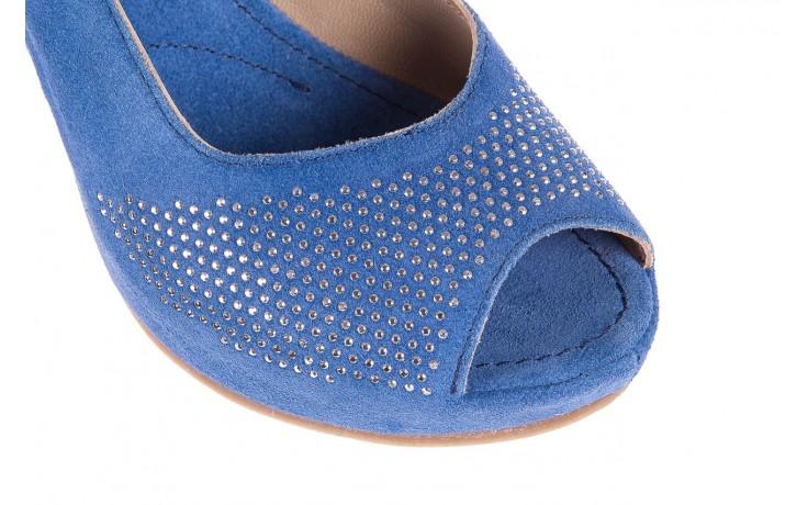 Sandały bayla-131 2507 cobalto, niebieski, skóra naturalna  - bayla - nasze marki 5