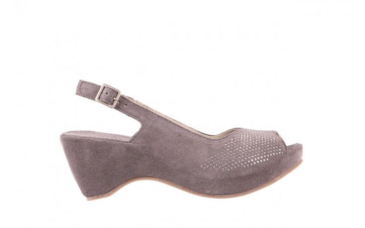 Sandały bayla-131 2507 grigio, szary, skóra naturalna  - bayla - nasze marki
